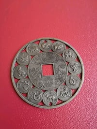 Chinese lucky medal Toronto, M1T 1A6