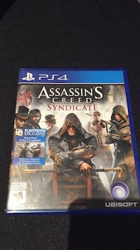 Assassin's Creed Syndicate PS4 game  Mississauga