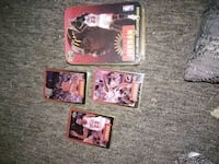 Michael Jordan metal cards.  Pekin, 61554