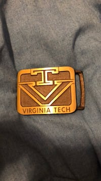 Virginia Tech Belt Buckle Falls Church, 22042