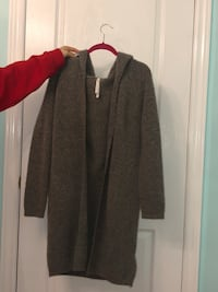 women's gray and red long sleeve dress Vaughan, L4H 2H1