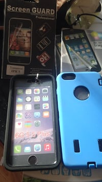 two blue and black iPhone cases Edmonton, T5W 0M7