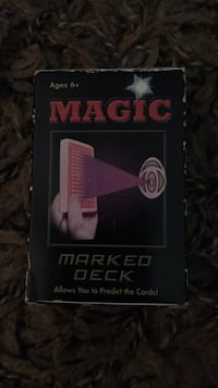 Magic- Marked  deck of cards