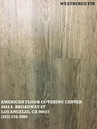 WATERPROOF VINYL FLOORING SALE!!