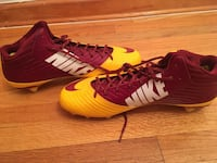 ORIGINAL PAIR OF NEW NIKE VAPOR SPEED D 3/4 MID FOOTBALL CLEATS  [PHONE NUMBER HIDDEN]  size 14 Rutherford, 07070