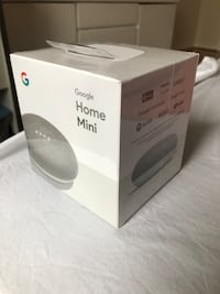 Google Home Mini - Chalk - Sealed Richmond Hill, L4B 3E8