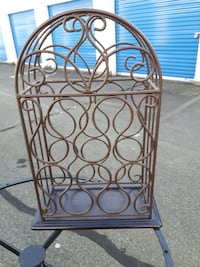 Wrought Iron Wine Holder Langley, V3A 0C9