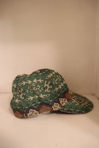 Earthy colored, patterned hat Reading, 01867