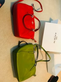 Coach crossbody, both are like new.. only selling one, pick one for 95$. Burnaby, V5C 5A9