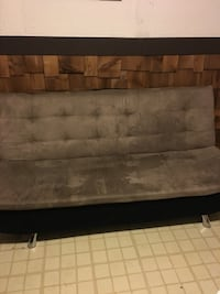 brown and black fabric sofa 2673 km