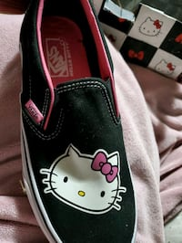 Limited Edition Hello Kitty Van's Slip Ons