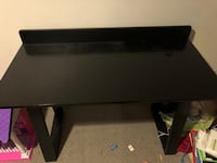 Black wooden desk perfectly new condition Overland Park, 66212