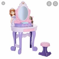 Sofia the first vanity. Rutherford, 07070