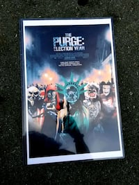 Purge Election Year Poster New Bunker Hill, 25413