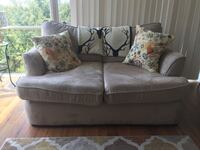 Love seat and matching single chair. Cash only/ pick up only.  Washington, 20016