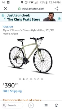 Raleigh Alysa1 bicycle