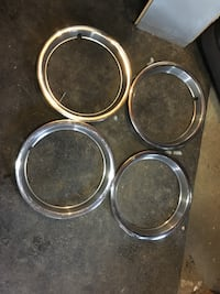 Four stainless steel wheel rings Frederick, 21703