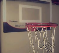 mini white and red basketball hoop Plano, 75023