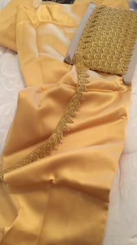 Golden fabric and golden ribbon lace ideal for fabric craftsmanship  Palaio Faliro, 17562