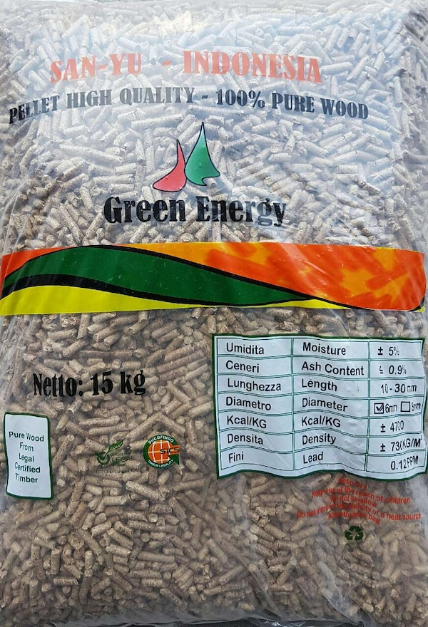 green energy netto 15 kg sack