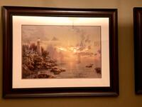 "Thomas Kinkade Painting ""Sea of Tranquility"" Limited Edition Edmonton, T5X 6G1"