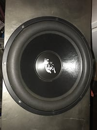 """Very high quality subwoofer for sale. it's a 15"""" adire audio brahma in perfect condition. i installed in a secondary car and barely used it. comes with custom made 1.5"""" mdf enclosure. Louisville, 40228"""