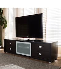 Modern TV Stand with Frosted Window  Alexandria, 22303