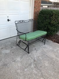 Wrought iron lounge chaise & bench glider Virginia Beach, 23454