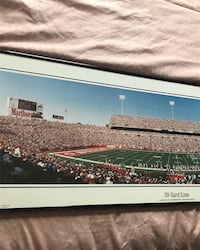 NFL buffalo bills picture frame 38 yard line picture taking by rob arra 1994 Bloomfield, 07003