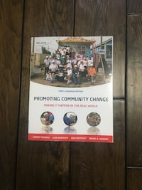 SSW Promoting Community Change Textbook Mississauga, L5E 1M8