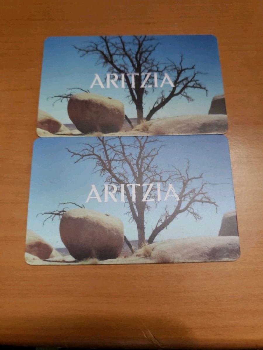 Photo Aritzia Gift Card