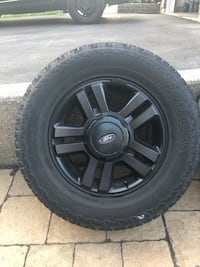 "$500 OBO 18"" Ford rims 6x135 bolt pattern on hankook dynapro tires Waterdown, L8B 0B4"
