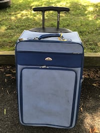 Blue Rolling Suitcase Sterling, 20164
