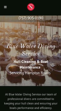 Dive services/Hull cleaning Norfolk