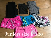 Juniors size L pj/shorts/pants Jamestown, 14701