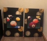 Set of pictures for game room or bar.  Lawton, 73505