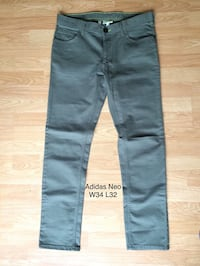 Adidas NEO Slim fit jeans/herre bukse.nye.brand new. W34 L32