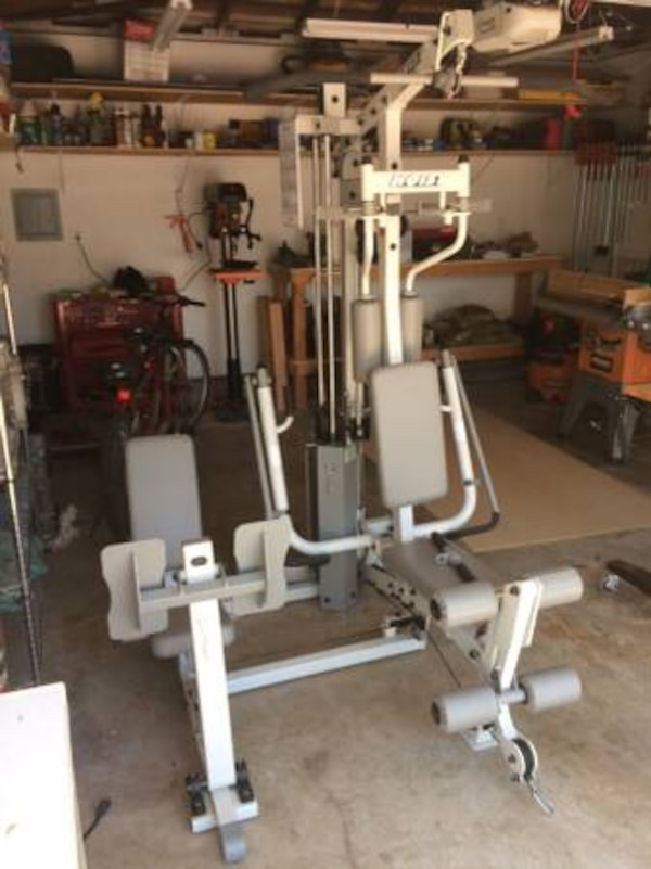 Used hoist h strength fitness center home gym w leg