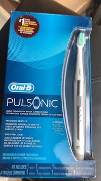 Oral B electric toothbrush. In original case. Never been open.