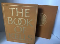 The Book of Kells 1976 230 Pages 126 Color Plates 75 Monochrome Illustrations Mc Lean, 22101