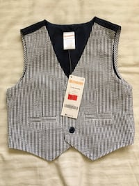 Brand new toddler vest Walnut, 91789