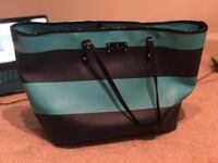 Kate spade Black and green leather tote bag Medford, 11763