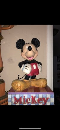 Disney Jim Shore Mickey Mouse Big Fig Compton, 90221