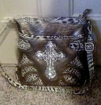 Cross themed handbag
