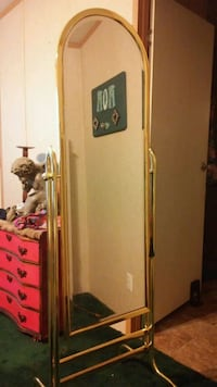 Floor mirror made in Taiwan reduced to $50. Tyler, 75707
