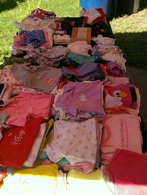 Yard sale today and tomorrow at 4118 bunker hill