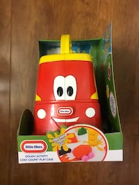 Brand new little tikes dough activity cosy coupe play case (pick up only) Alexandria, 22310