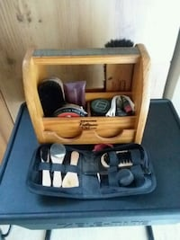Footman Esquire Deluxe Shoe Shine Box Beltsville, 20705