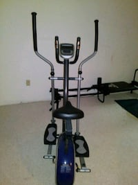 blue and black elliptical trainer Gaithersburg, 20878
