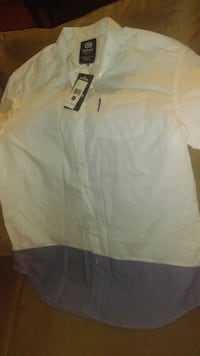 Ecko button up short sleeve Cathedral City